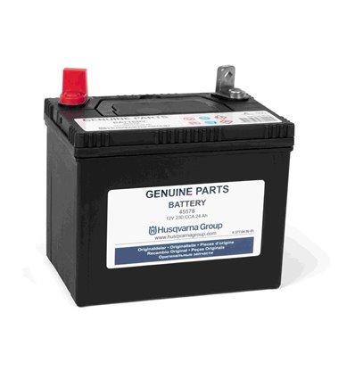 Batteri 12V, 24Ah, Husqvarna Rider, Jonsered, McCulloch m.fl. 5770416-01 - 1