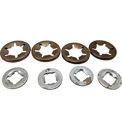 STIGA Hjullåsbrickor Dino, Multiclip 46, Collector 46, 1111-9042-01 - 2
