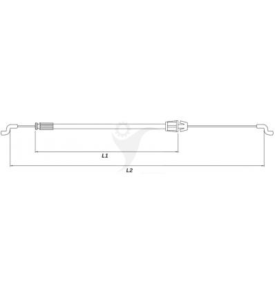 STIGA Kopplingsvajer Collector 46, 48, 54, Combi 48, 53, 381000668/1 - 1