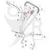 KLIPPO Gasreglage Comet S, SE, Cobra S, SE, Pro 19 S, 21 S, 5033096-01 - 2