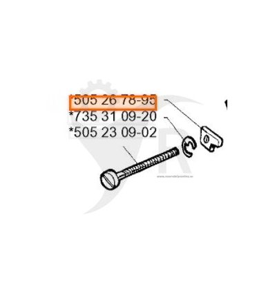 HUSQVARNA Dragstycke 505267895 - 1