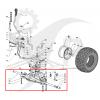 Stiga Komplett axel med transmission 118400910/2 - 1
