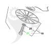 Maskinskruv M8 vä-gänga, 2653170 - 2
