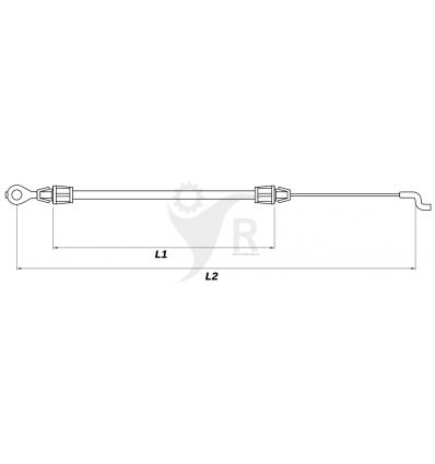 STIGA Motorbromsvajer Multiclip 50, Multiclip 50 S, 181000634/0 - 1