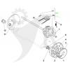 STIGA Transmission Multiclip 50S, 50 SB, Rental 50 S m.fl. 181003122/0 - 6