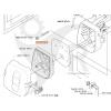 Luftfilter skum 333 R, 335 RX, BC2236 m.fl. 5373372-01 - 2