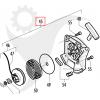Startapparat Partner B321, B340, McCulloch HBM34 m.fl. 5382416-59 - 2