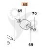 Husqvarna Stödhjul med lager Rider 850, 13, FR2213, 2115, 5069630-01 - 2