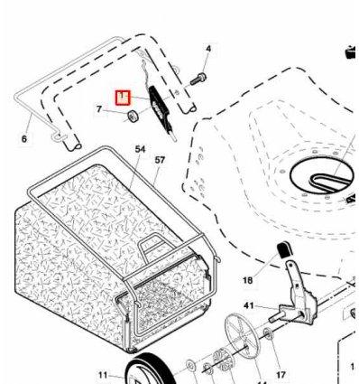 Drivvajer reglage Partner McCulloch 5324078-16
