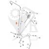 KLIPPO Motorbromsvajer Excellent S, Comet S, Husqvarna LB448, 5854020-04 - 2