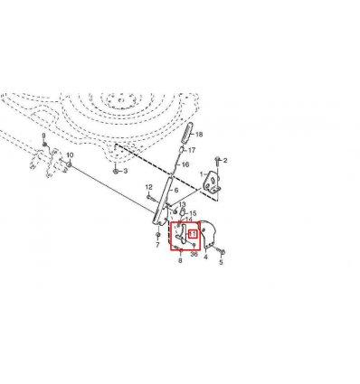 STIGA Låssegment 1134-3010-02  - 2