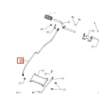 Bromsvajer Partner, McCulloch m.fl 5324408-55 - 1