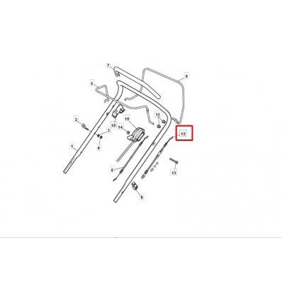 STIGA Kopplingsvajer Multiclip 50S 381030096/1 - 1
