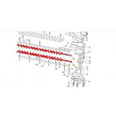 STIGA Svärd till häcksax 123305004/0 - 1