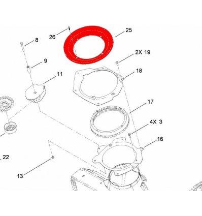 TORO Seal Ring CCR6053 114-3772 - 1