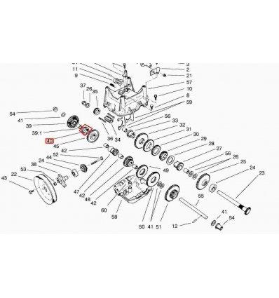 TORO Drivkrage PowerShift 67-5880 - 1