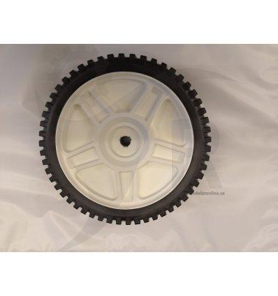Hjul fram 200mm, vitt, Partner, Flymo, 5810092-04 - 1