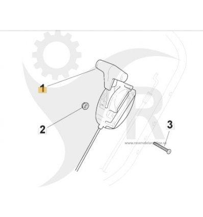 STIGA Gasreglage Multiclip 50 Honda 181007130/0 - 1