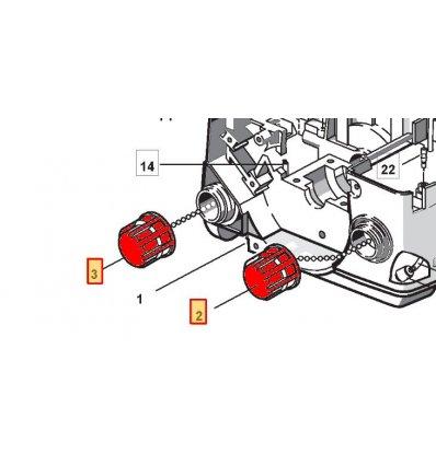 STIGA Tanklock SP370, SP410, SP382, 4252630 - 1