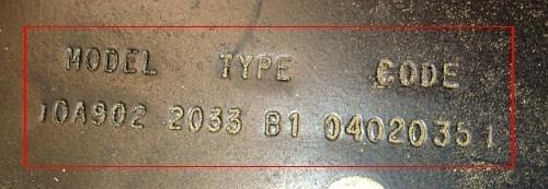 Briggs and Stratton reservdelar produktnummer etikett